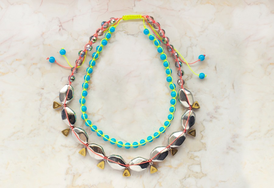 Miami Heat Neon DIY Necklace