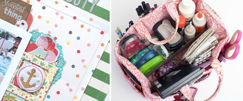 How to Scrapbook: Catch-Up Tips + Giveaway