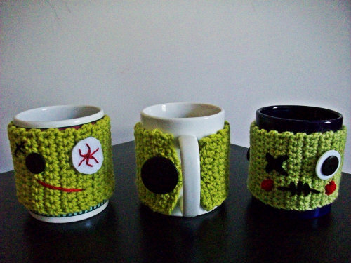 Zombie Mug Cozy