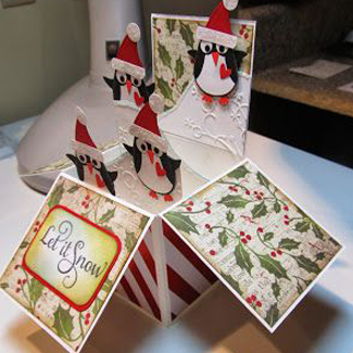 Christmas Card in a Box