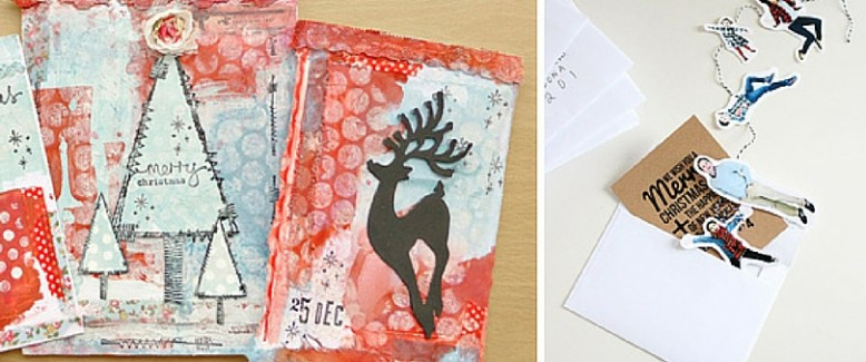 10 Unique Handmade Cards for Christmas