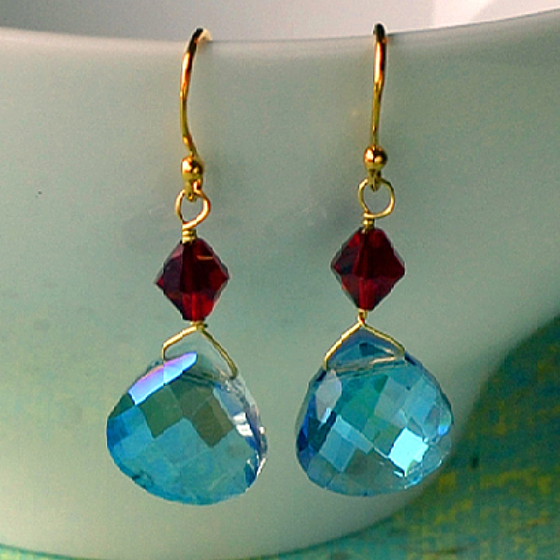 How to Make Briolette Earrings