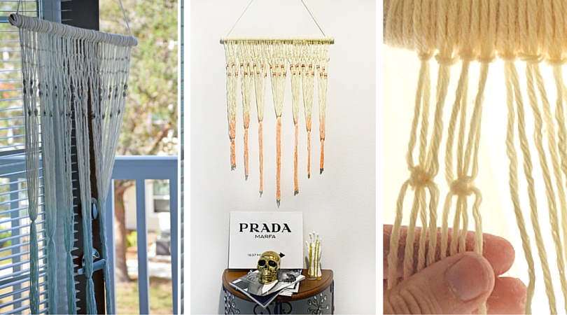 Magical Diy Macrame Wall Hanging Craft Paper Scissors
