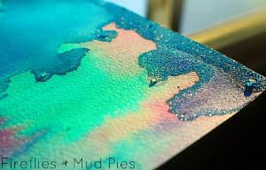 Amazing Ice Painting
