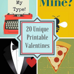 20 Unique Printable Valentines
