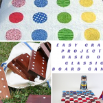 35+ Easy Craft Projects Based on Classic Board Games