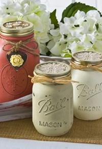 Charming Country Mason Jar Crafts