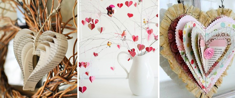 Paper Crafting With Heart: 12 DIY Valentine's Projects