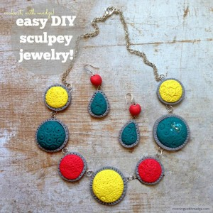 Easy DIY Sculpey Jewelry