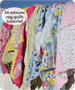30 Minute Rag Quilt