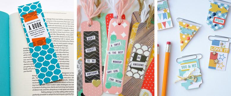 25 DIY Paper Bookmarks