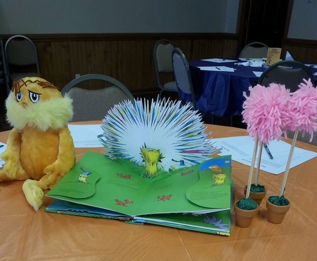 Lorax Baby Shower Decorations