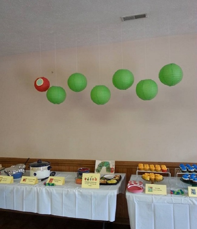 Very Hungry Caterpillar Decoration