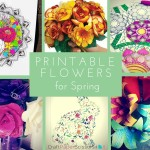 Printable Flowers for Spring