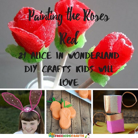 Painting The Roses Red 21 Alice In Wonderland Diy Crafts
