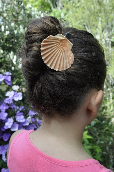 Mermaid-Inspired DIY Hair Accessories