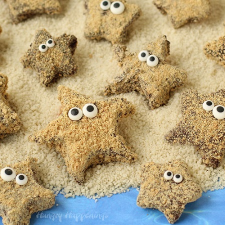 Summer S'mores Starfish Snack