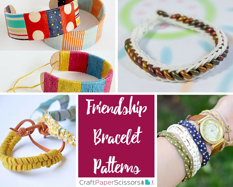 CPS - Friendship Bracelet Patterns collage
