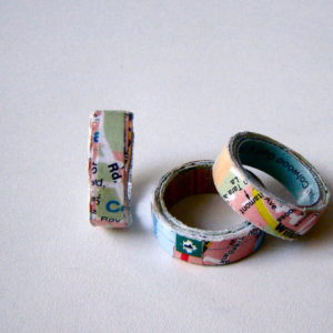 Wanderlust Paper Ring