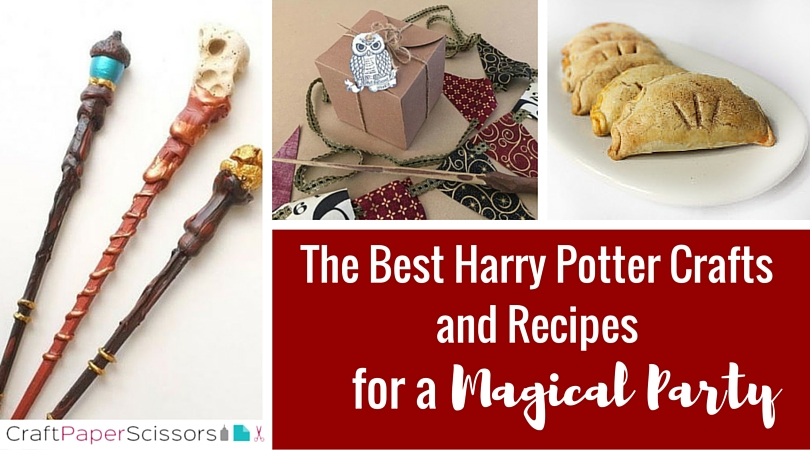 The Best Harry Potter Crafts for a Magical Party