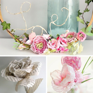 The Prettiest Paper Flowers for Your Wedding