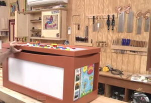 Multi-Purpose DIY Toy Box