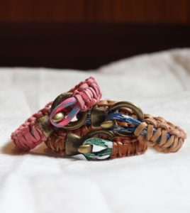 Marvelous Macrame Leather Bracelets
