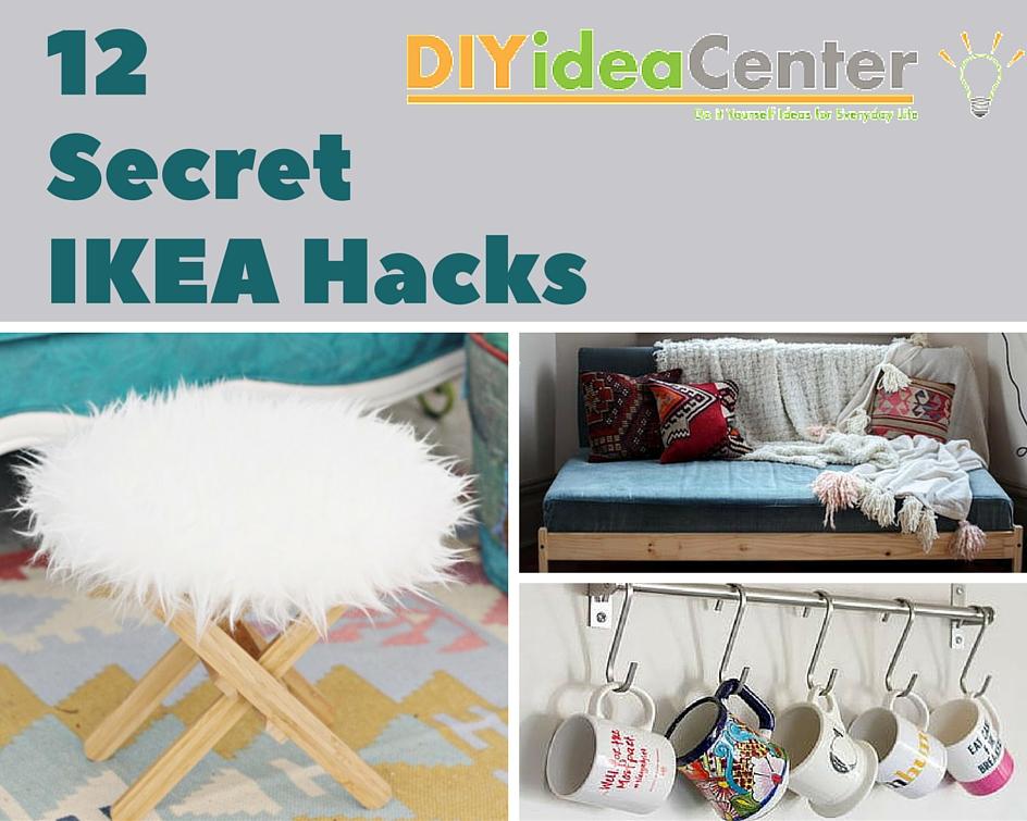 12 Secret IKEA Hacks