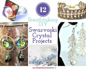 12 Breathtaking DIY Swarvoski Crystal Projects