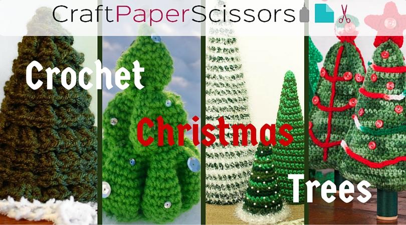 4+ Creative Crochet Christmas Trees