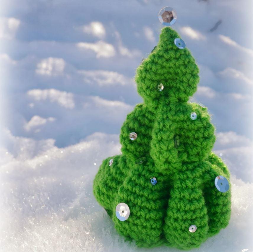 Cutesy Crochet Christmas Tree