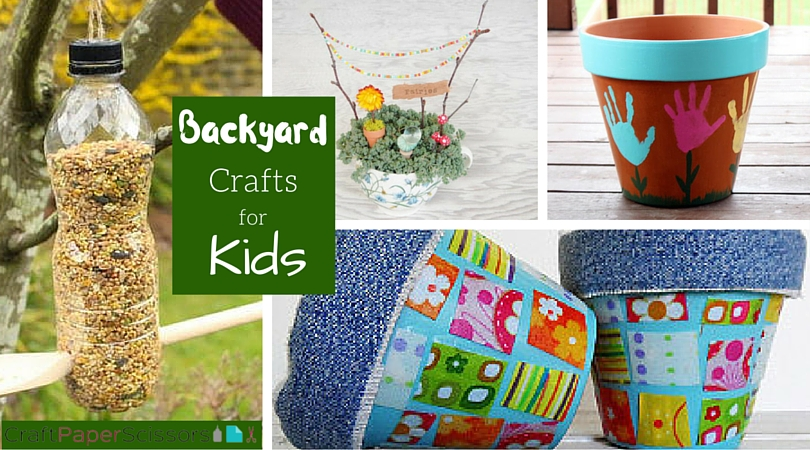 Backyard Crafts - CPS Collage