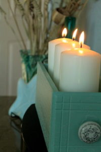 Old-Drawer-DIY-Candle-Holder