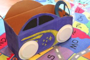 Cardboard-Box-Car