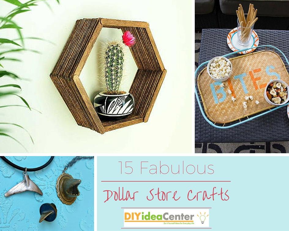Fabulous dollar store crafts