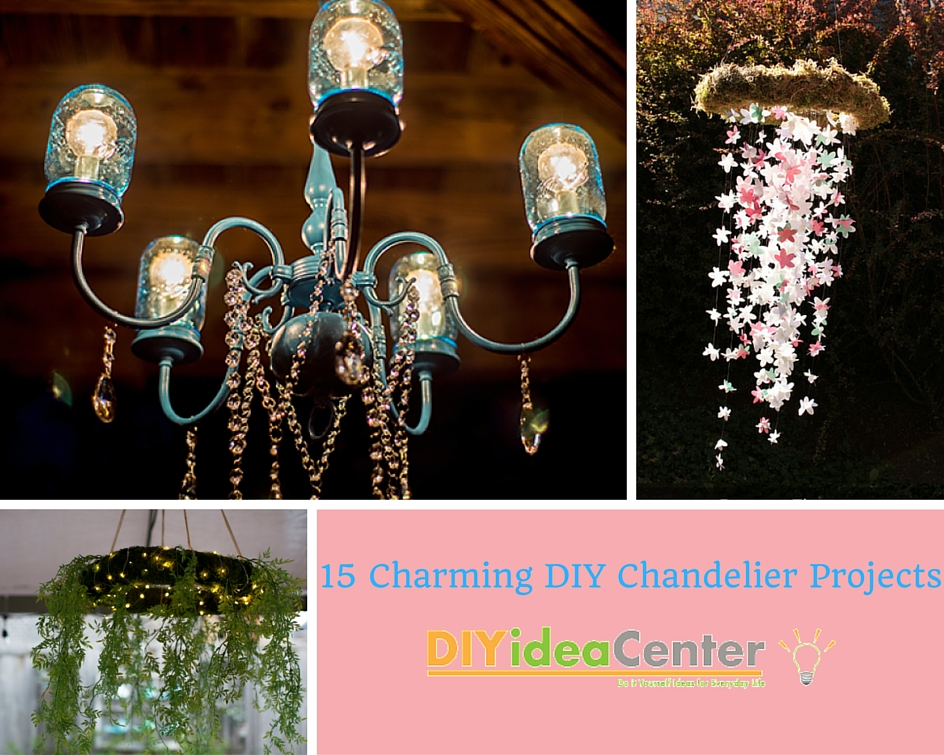 15 Charming DIY Chandelier Projects