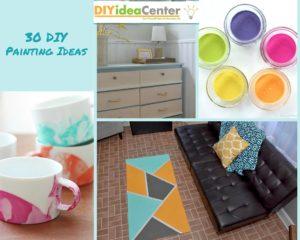 30 DIY Painting Ideas