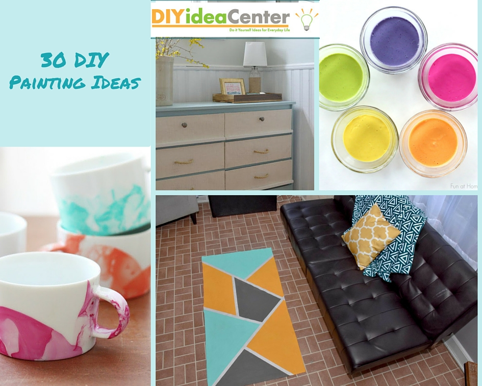 30 DIY Painting Ideas - Craft Paper Scissors