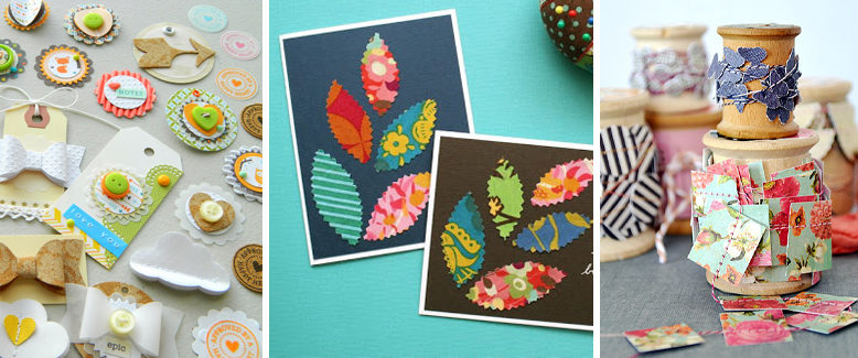 20 Ways To Store And Use Your Paper Scraps