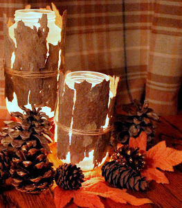 Woodland Nymph DIY Candle Holders