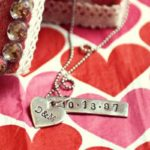 Metal Stamped DIY Pendant