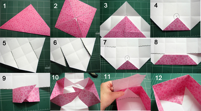 How to Make a Paper Box - Craft Paper Scissors