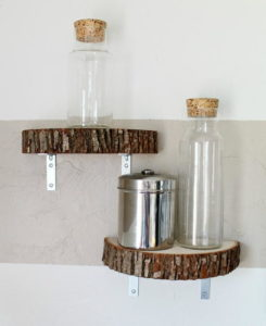 Easy-Modern-Wood-Slice-DIY-Shelf
