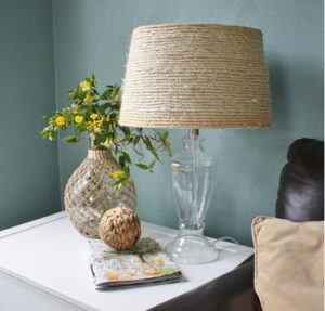 Sisal-DIY-Lamp-Shade