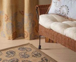 Stenciled-Paisley-Home-Decor-Set