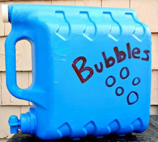 Easy DIY Homemade Bubbles Refill Station