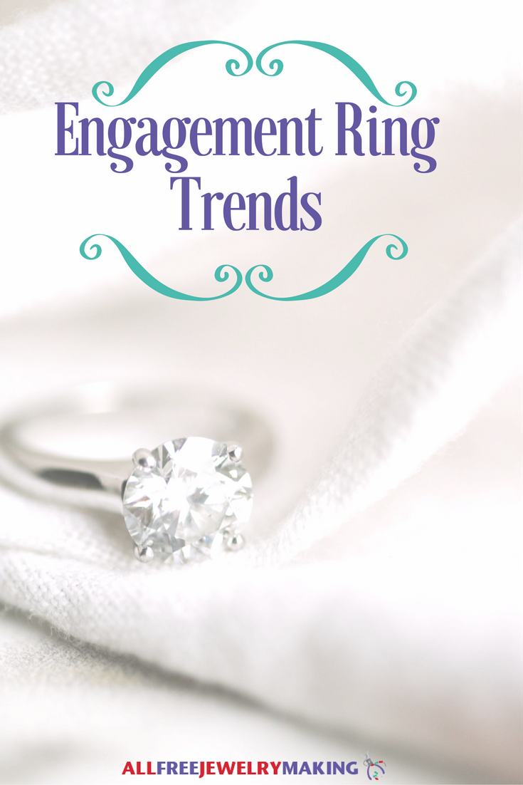 All About That Band: Engagement Ring Trends