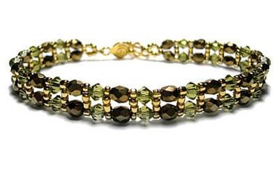 Princess Beaded Bracelet Pattern