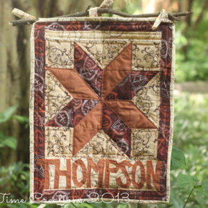 Cozy Quilted Fall Welcome Sign