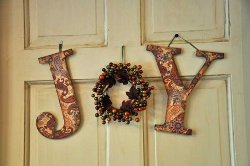 Show Your Joy Fall Door Sign